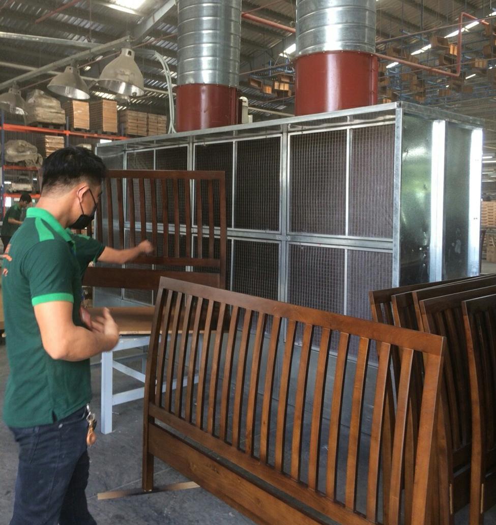 phòng cháy chế biến gỗ