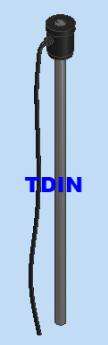 Điện trở titan 3kW dài 800